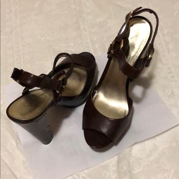 Jessica Simpson Shoes - Brown heels